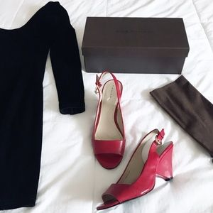 Elie Tahari pumps with box and dust bag